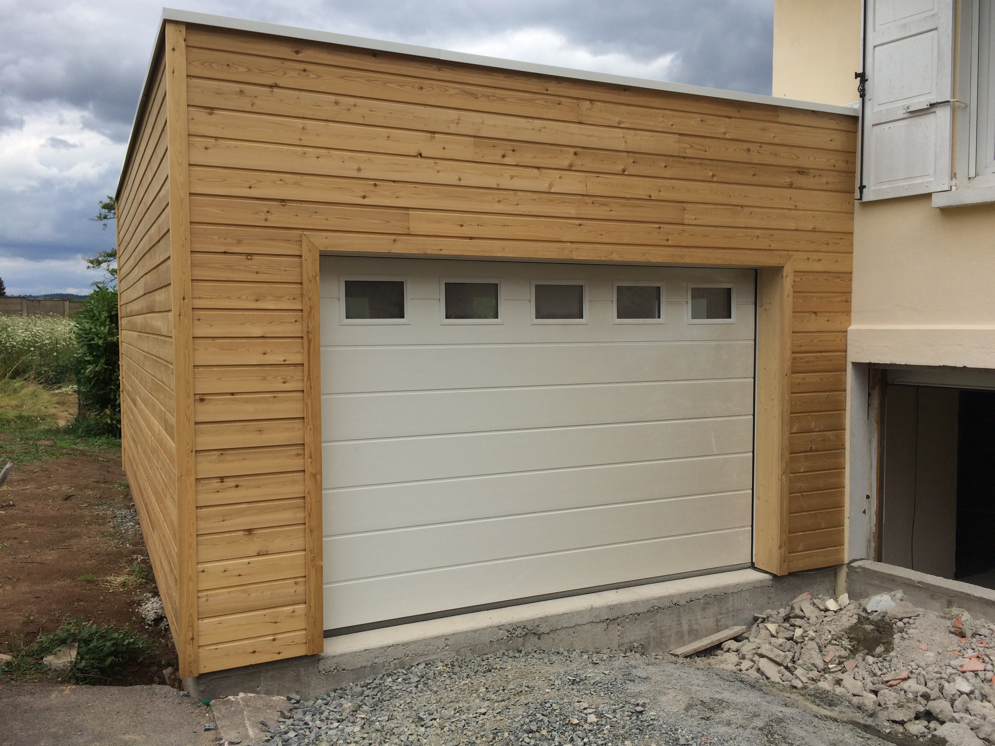 Garages Nordi Bois Construction Maisons Madrier Et Ossature Bois